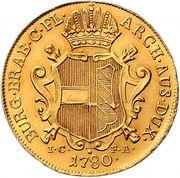 2 Souverains - Maria Theresia (Vienna) – reverse