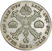 1 Kronenthaler - Franz II (Type II) -  reverse
