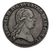 Token - Inauguration of Leopold II Brabant and Flanders – obverse