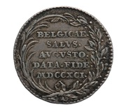 Token - Inauguration of Leopold II Brabant and Flanders – reverse