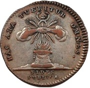 Medal - Maria Theresia (Gratitude of Flandria) – reverse