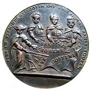 Satirical medal - War of Austrian succession – obverse