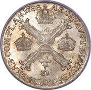 ¼ Kronenthaler - Joseph II – reverse