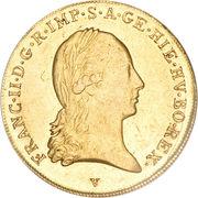 1 Souverain d'or - Franz II (Type 2) – obverse