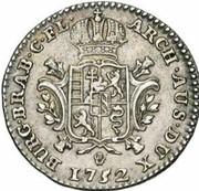 ¼ Ducaton - Maria Theresia – reverse