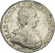 ½ Ducaton - Maria Theresia – obverse