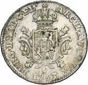 ½ Ducaton - Maria Theresia – reverse