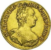 ½ Souverain - Maria Theresia – obverse