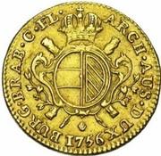 ½ Souverain - Maria Theresia – reverse