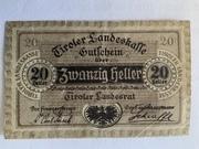 20 Heller (Land du Tyrol) – obverse