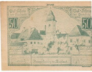 50 Heller (Baumgartenberg) – obverse