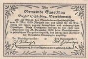 50 Heller (Eggerding) – reverse