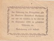 20 Heller (Gerersdorf) -  reverse