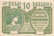 10 Heller (Hausmening) – obverse