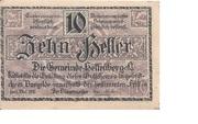 10 Heller (Helfenberg) – obverse