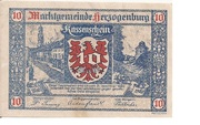 10 Heller (Herzogenburg) – obverse