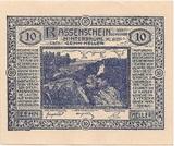10 Heller (Hinterbrühl) – obverse