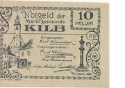 10 Heller (Kilb) – obverse