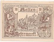 10 Heller (Kefermarkt) – obverse