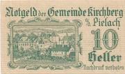 10 Heller (Kirchberg an der Pielach) – obverse