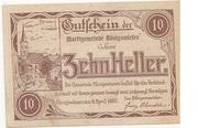 10 Heller (Königswiesen) – obverse
