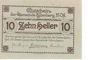 10 Heller (Kürnberg) – obverse