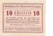 10 Heller (Lengau) -  obverse