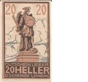 20 Heller (Leonding) -  obverse