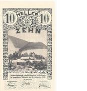 10 Heller (Lilienfeld) – obverse