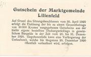 10 Heller (Lilienfeld) – reverse