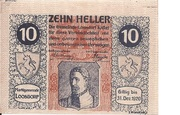 10 Heller (Loosdorf) – obverse