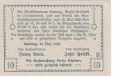 10 Heller (Lasberg) – reverse