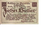 10 Heller (Losenstein) – reverse