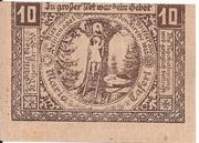 10 Heller (Maria-Taferl) – reverse
