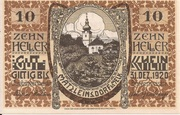 10 Heller (Matzleinsdorf) – obverse