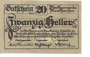 20 Heller (Mauthausen) -  obverse