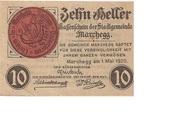 10 Heller (Marchegg) – obverse