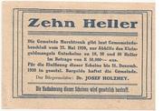 10 Heller (Marchtrenk) – reverse