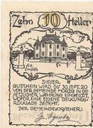 10 Heller (Morzg) – reverse