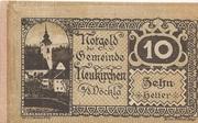 10 Heller (Neukirchen a. d. Vöckla) – obverse