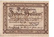 10 Heller (Neumarkt a. d. Ybbs) – obverse