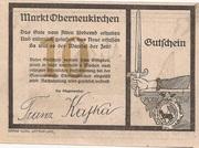 10 Heller (Oberneukirchen) – obverse