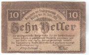 10 Heller (Steyr) – reverse