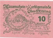 10 Heller (Ober-Wölbling) – obverse