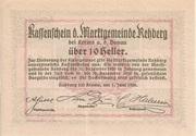10 Heller (Rehberg) – reverse