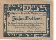 10 Heller (Reichraming) – obverse