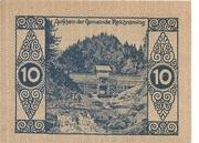 10 Heller (Reichraming) – reverse