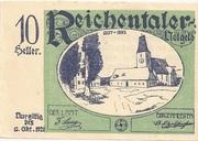 10 Heller (Reichental im Mühlkreis) – obverse