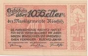 10 Heller (Röschitz) -  obverse