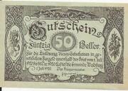 50 Heller (Waldburg) – obverse